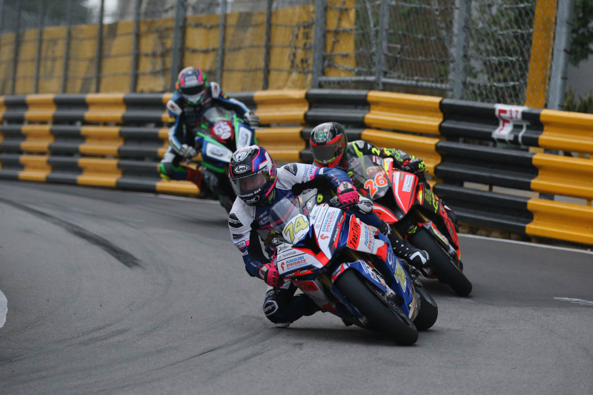 Davey Todd, Didier Grams and Michael Sweeney - 2018 Macau GP