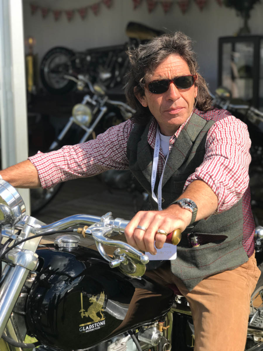 Gladstone Motorcycles Designer Guy Willison