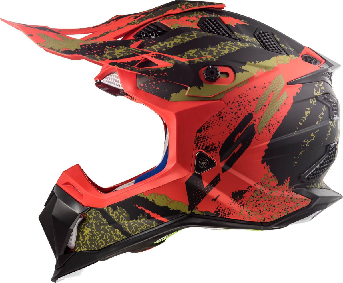 LS2 Subverter Helmet Claw Design