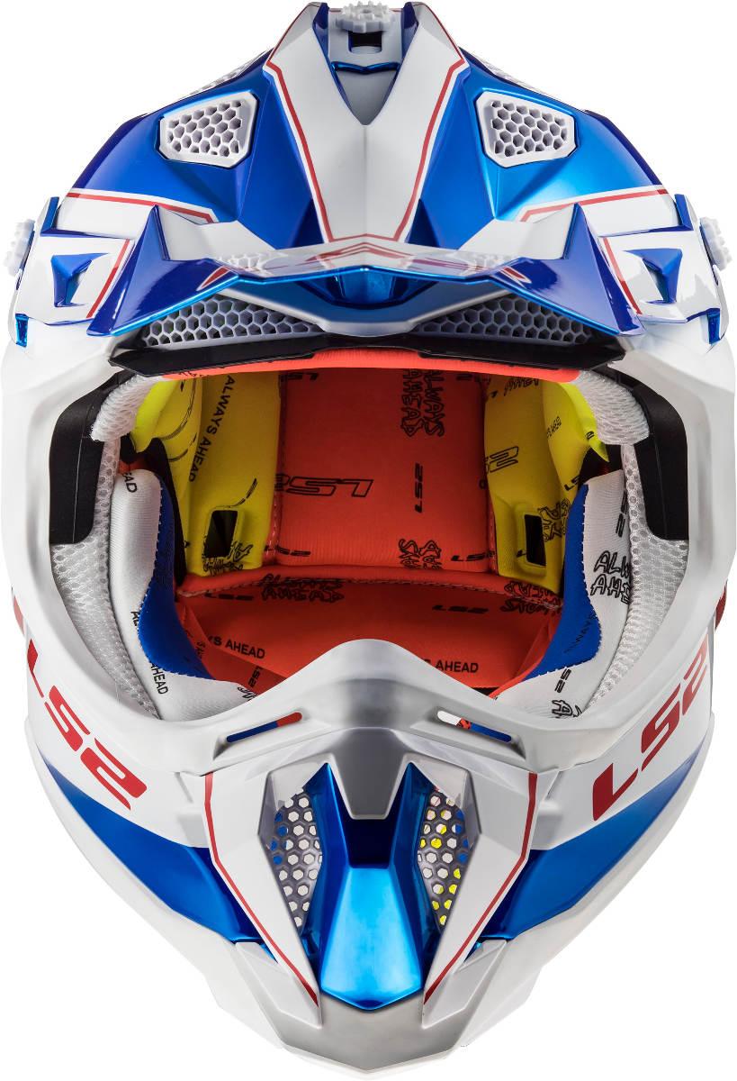 LS2 Subverter Helmet Power Design Front
