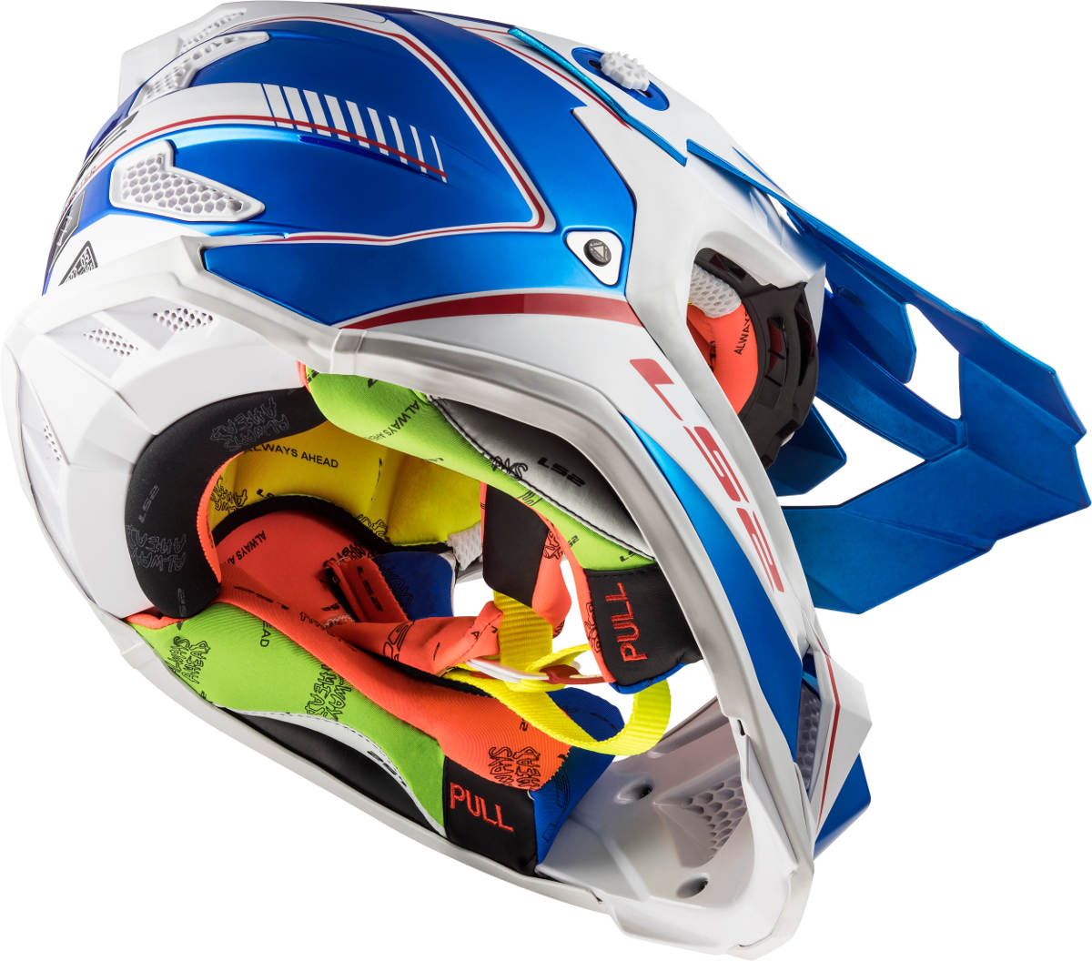 LS2 Subverter Helmet Power Design Underneath
