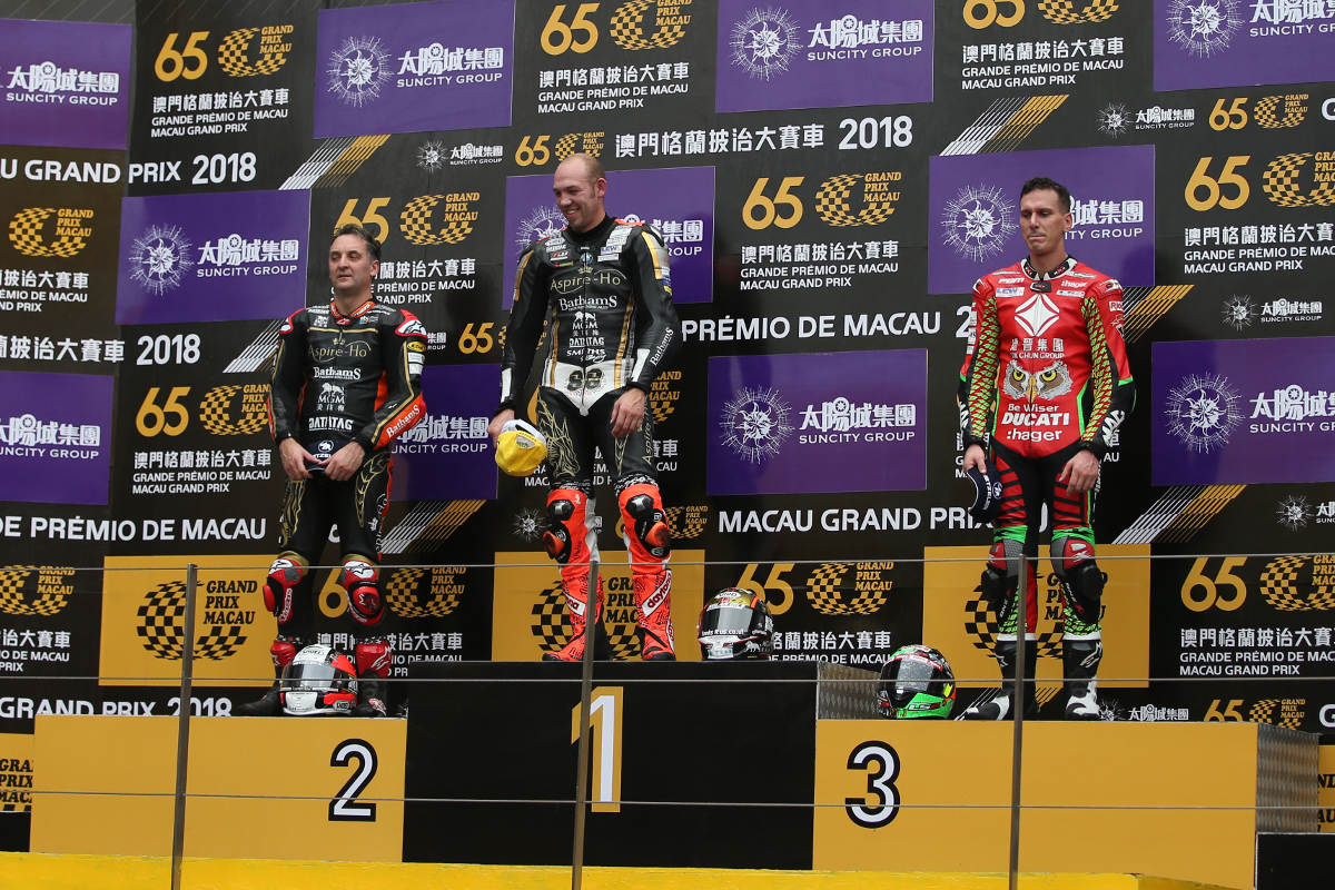 Peter Hickman Wins His Third Macau Motorcycle Grand Prix