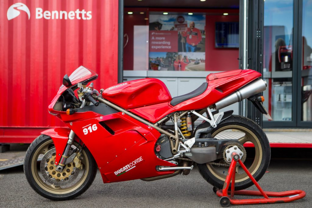 Ducati 916 Prize For Bennetts Classic Insurance Customers Rescogs