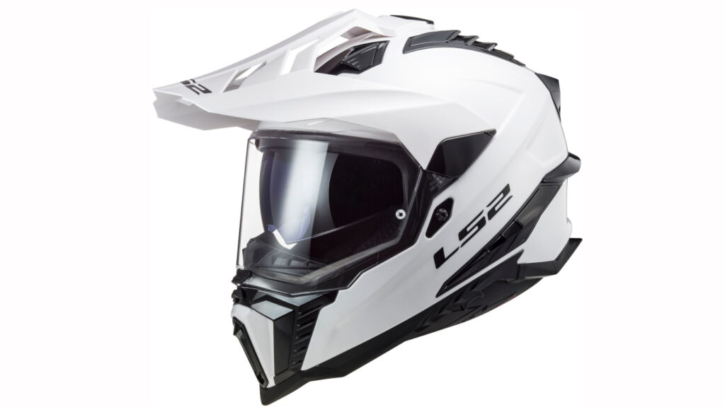 Pick your new LS2 Explorer MX701 Dual Sports Helmet from two solid colour options, or three colours for the Alter graphics